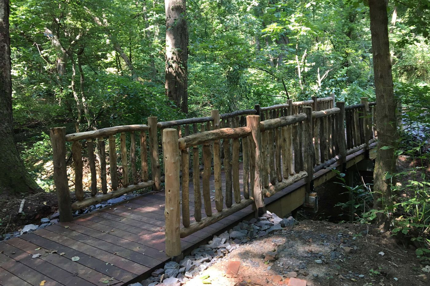 Poconos-like hiking now available in South Jersey's redone park
