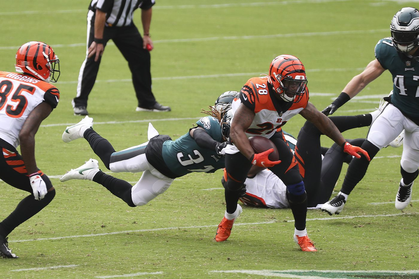 Grading the Eagles: With the exception of the run defense, nobody is making the honor roll