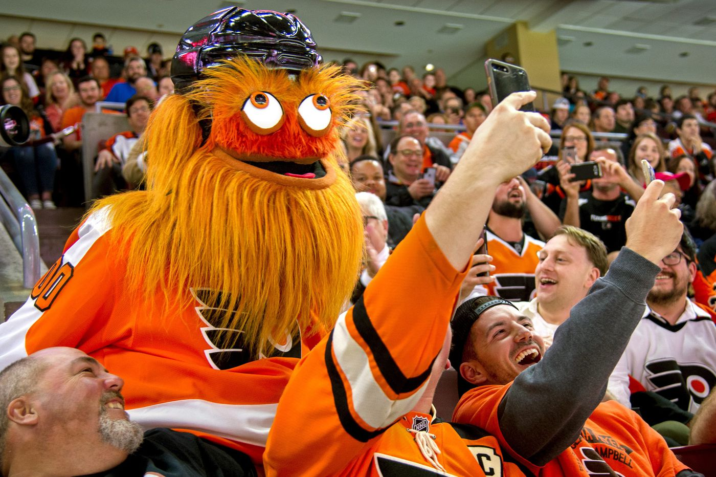 The nitty-Gritty behind the birth of the Flyers' mascot