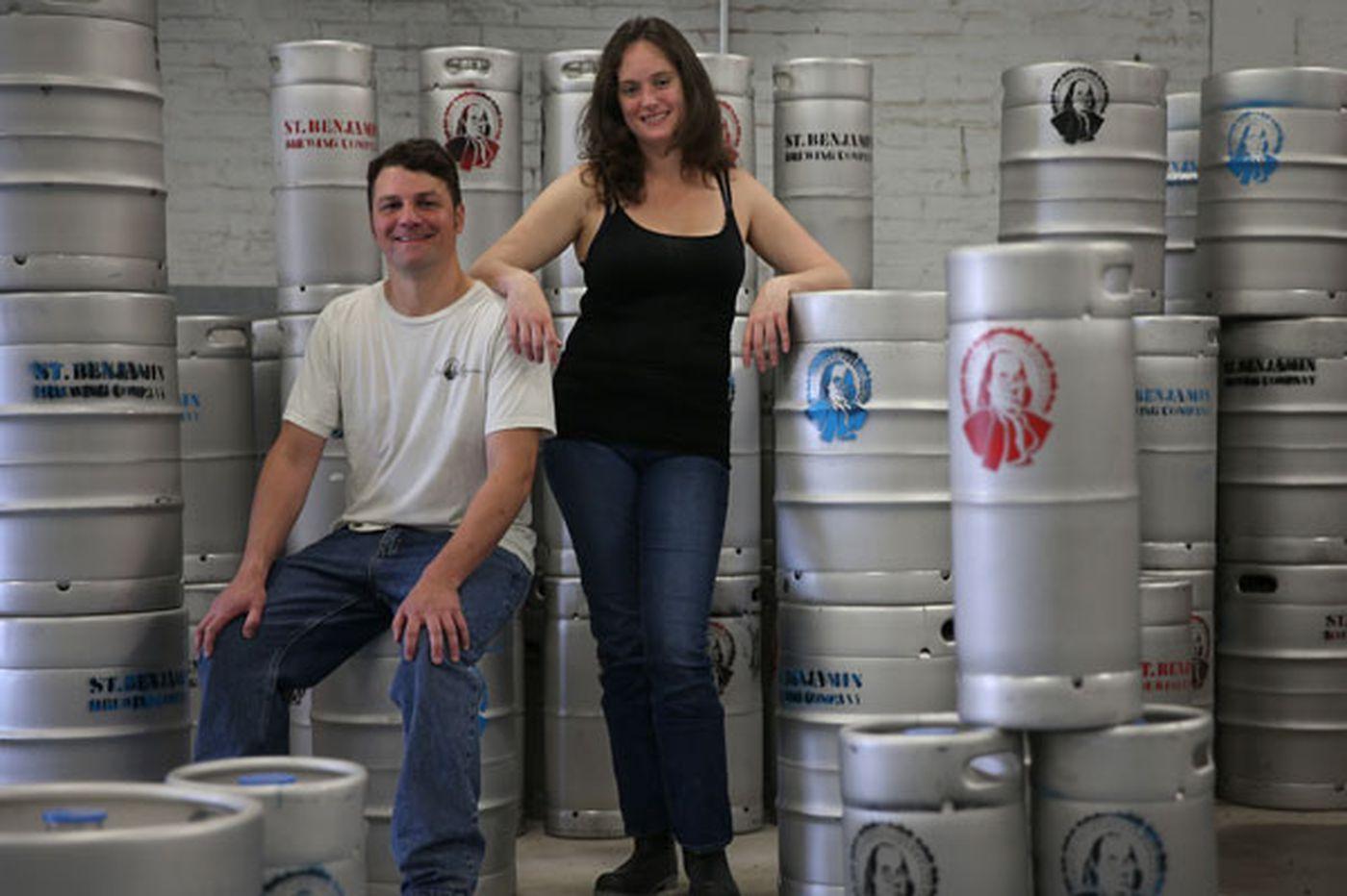 Saint Benjamin Brewing Co. closing in early May