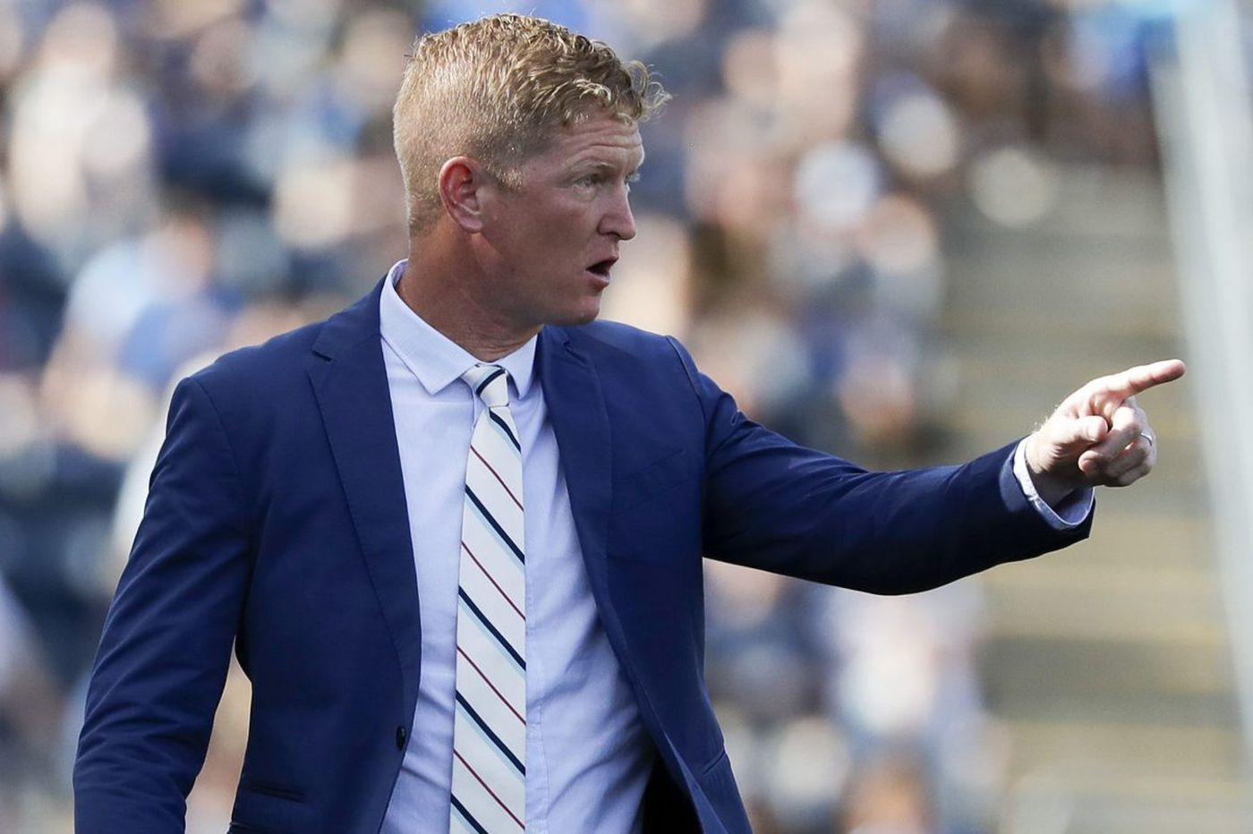 Jim Curtin wants to play the Union's young prospects, but doesn't think they're ready yet