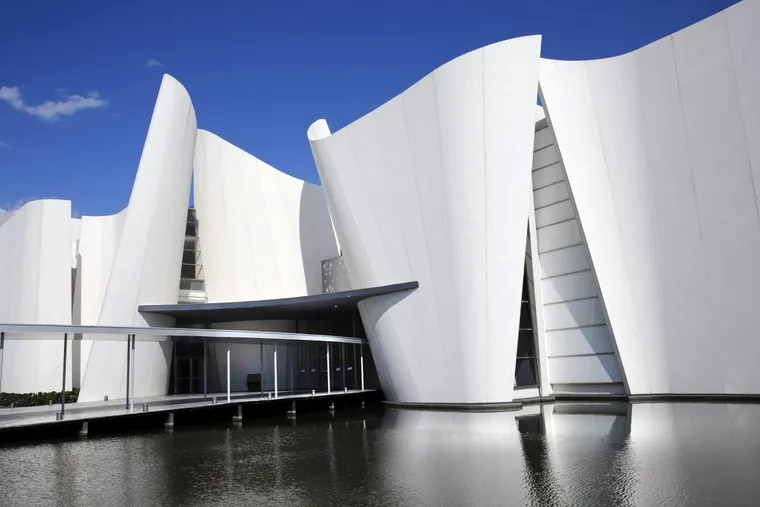 The International Museum of the Baroque in Puebla, Mexico, was designed by the Japanese architect Toyo Ito.