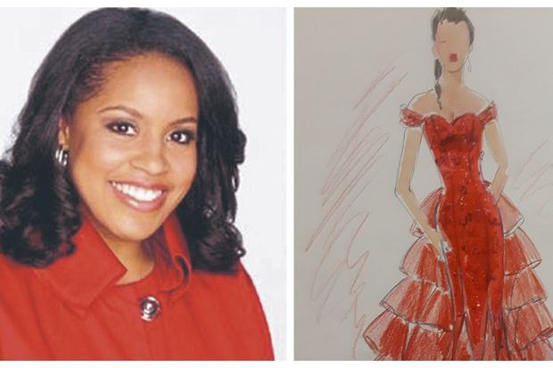This Philadelphia designer is putting 'Today's' Sheinelle Jones in this red dress and that makes me smile | Elizabeth Wellington