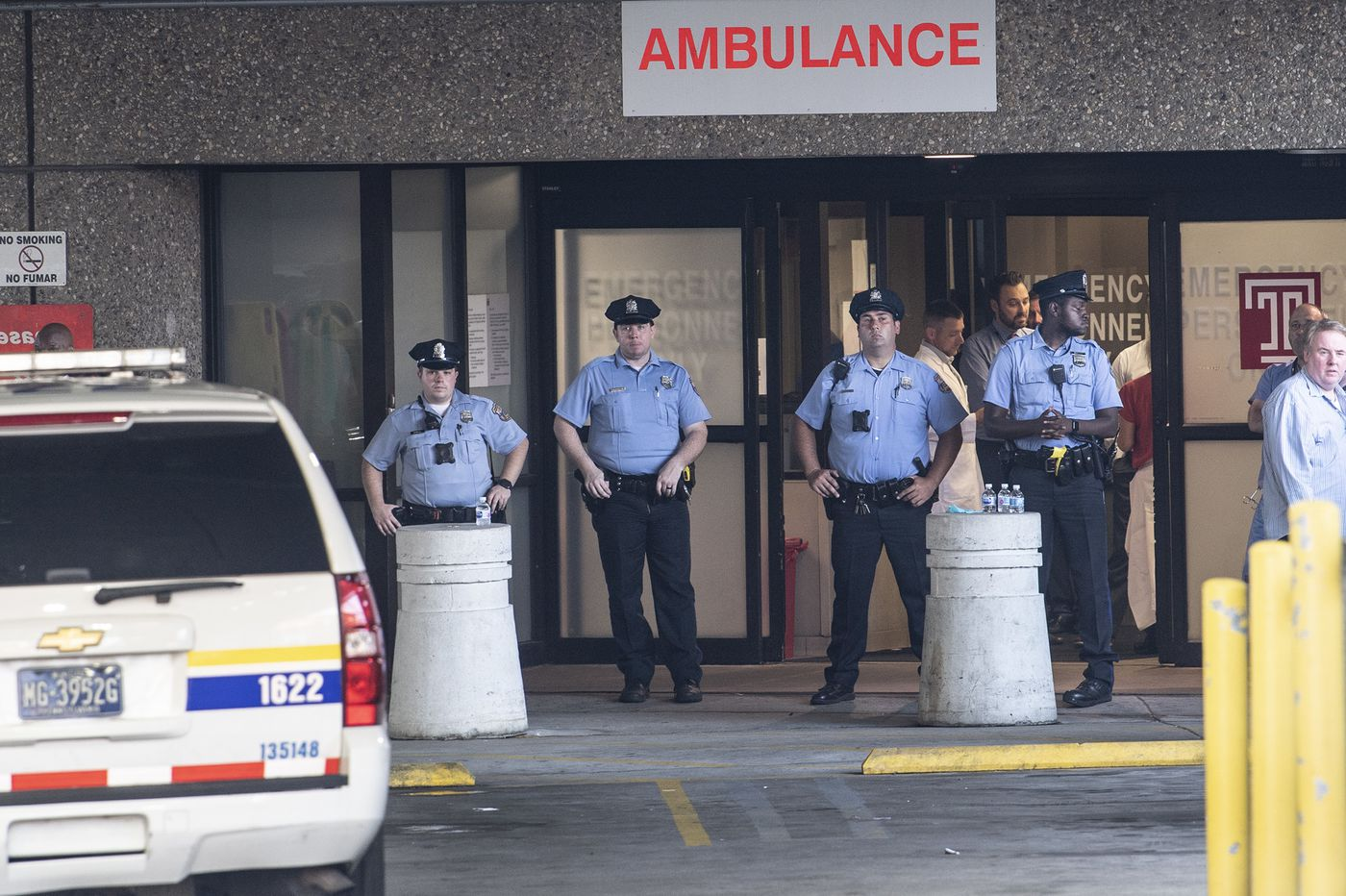 After Philadelphia police shooting, officers raced to Temple Hospital: 'It was intense'