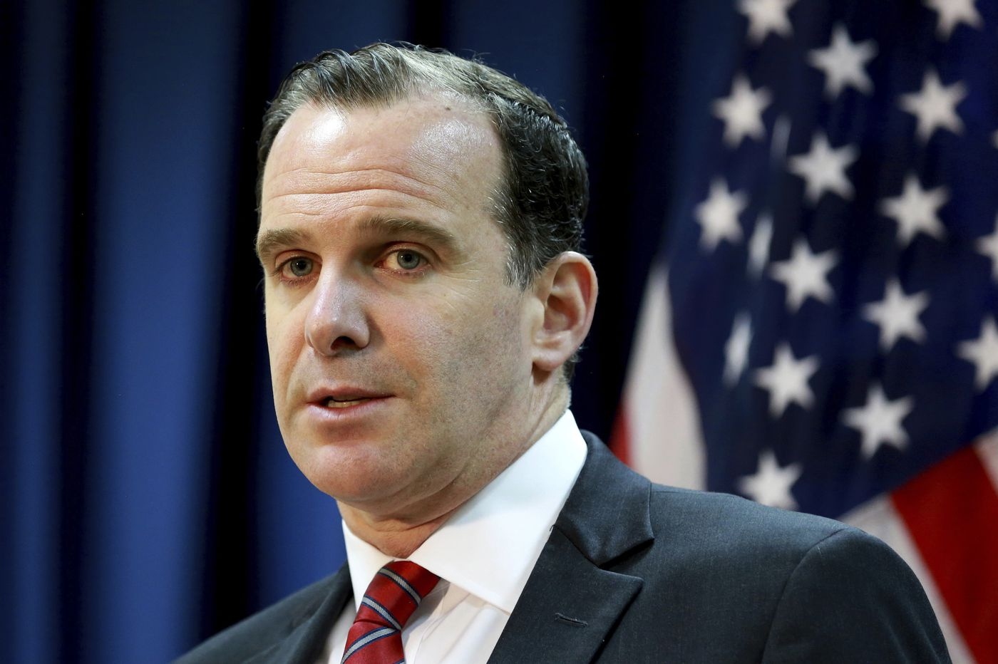 U.S. envoy to anti-IS coalition quits over Trump's Syria move