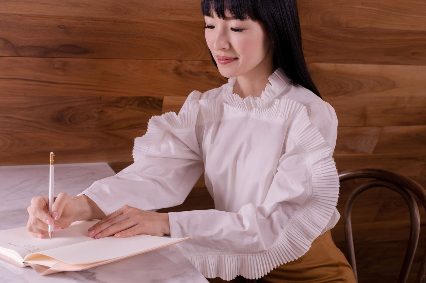 Marie Kondo is stuck at home, too. Here's how she is sparking joy.