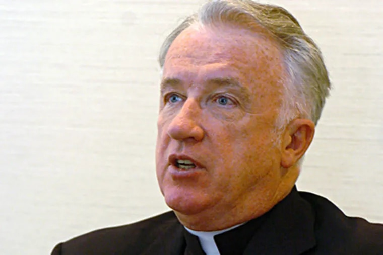 The name of Michael J. Bransfield, a bishop in West Virginia, came up in testimony in connection with the Rev. Stanley Gana, who has been accused. (Dale Sparks / Associated Press, file)