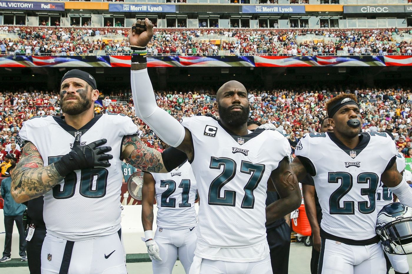Malcolm Jenkins weighs in on NFL's actions on protests during national anthem on NBC Nightly News