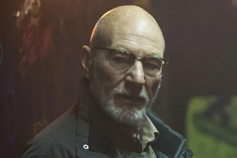 """Patrick Stewart is a sinister club owner in """"Green Room."""""""