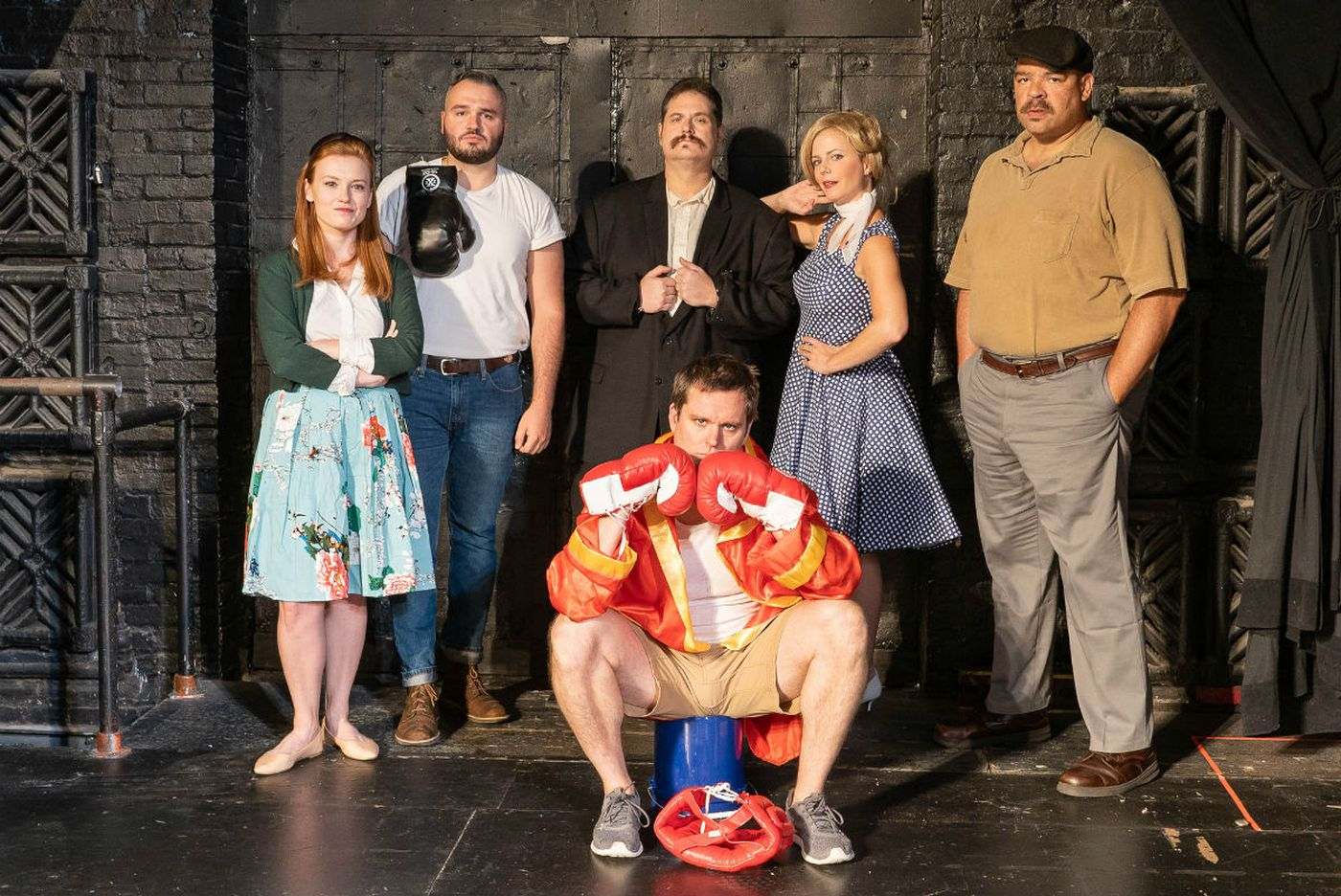 'Lay Me Down Softly' at Irish Heritage Theatre: Atmosphere but no clarity, no feel, no boxing