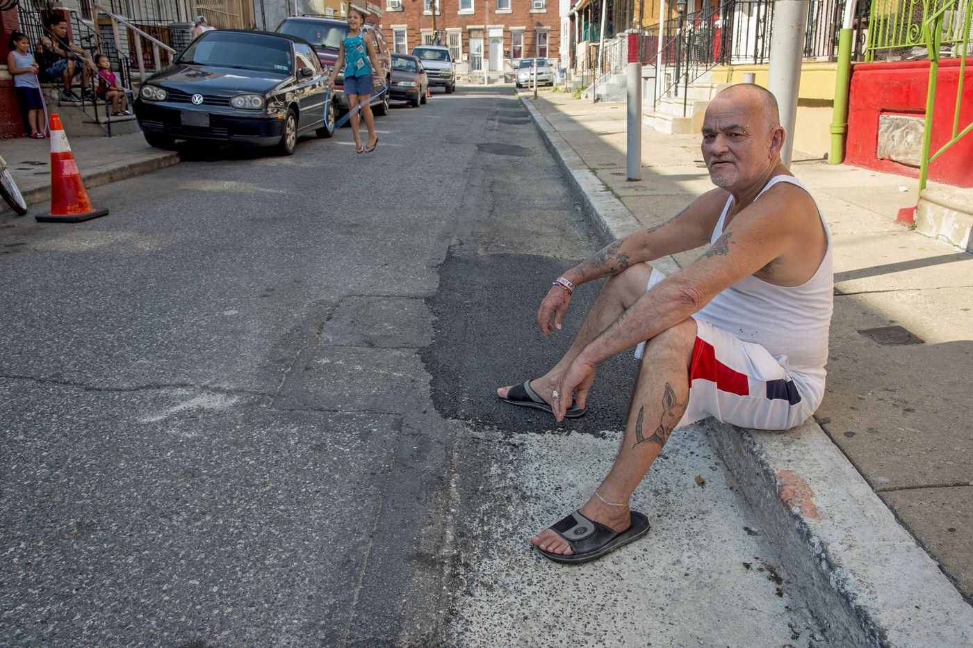 It took four years, $536, and a viral video for these North Philly neighbors to get potholes filled