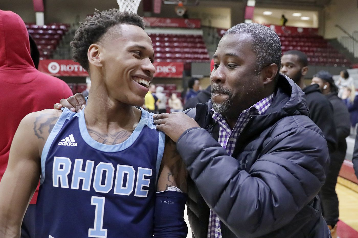Fatts Russell makes it a special night on Hawk Hill -- for Rhode Island   Mike Jensen