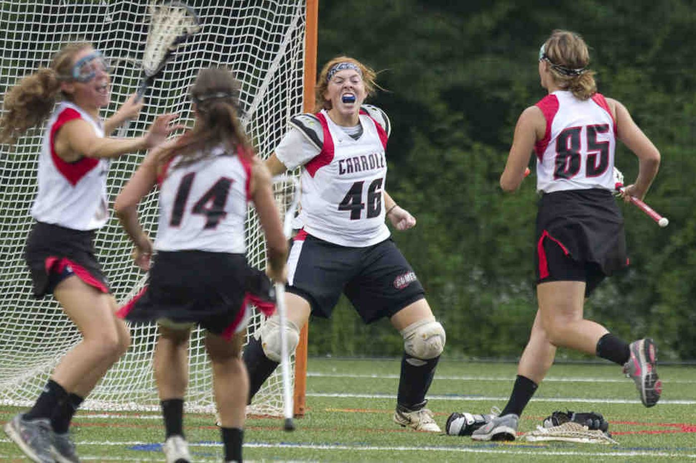 Archbishop Carroll maintains streak with girls' lacrosse win