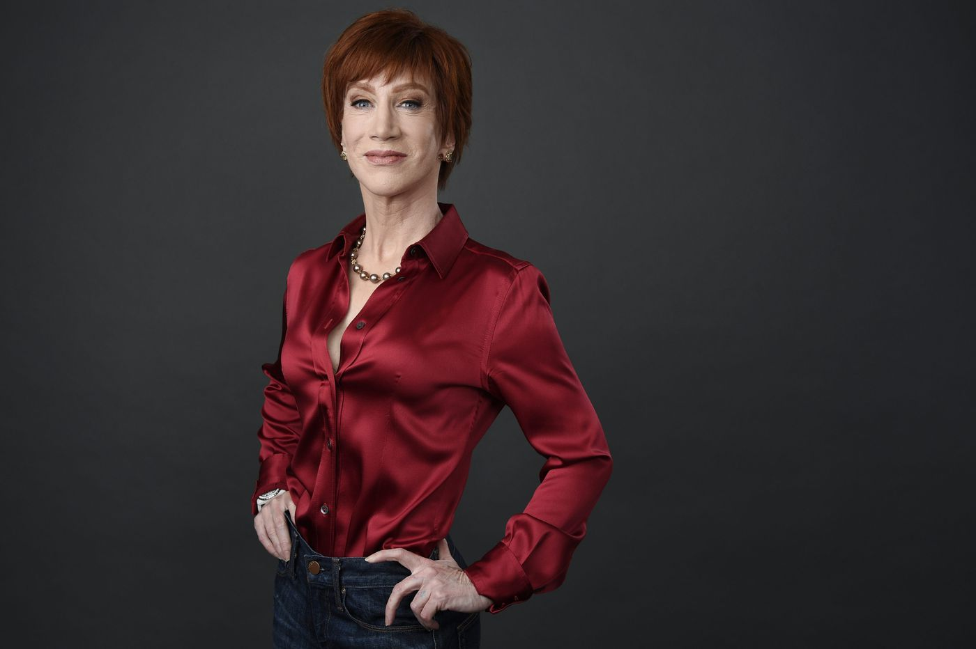 Kathy Griffin slams Kevin Hart over avoiding Trump material onstage