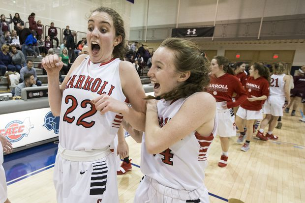 Grace O'Neill and Erin Sweeney power Archbishop Carroll to Catholic League final against Wood