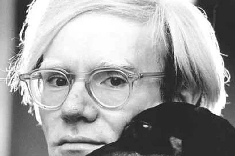 Warhol, with pooch, and filmmaker Paul Morrissey are named in lawsuit.
