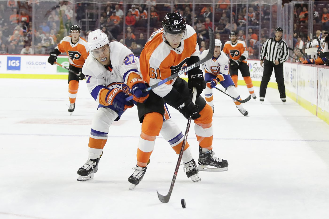 Big defenseman Phil Myers making impression on Flyers GM
