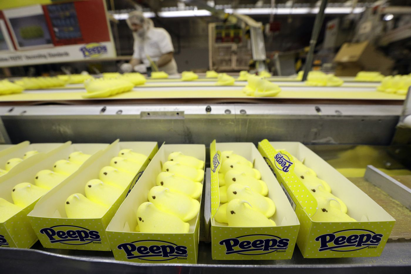 Peeps cease production two weeks before Easter due to the coronavirus