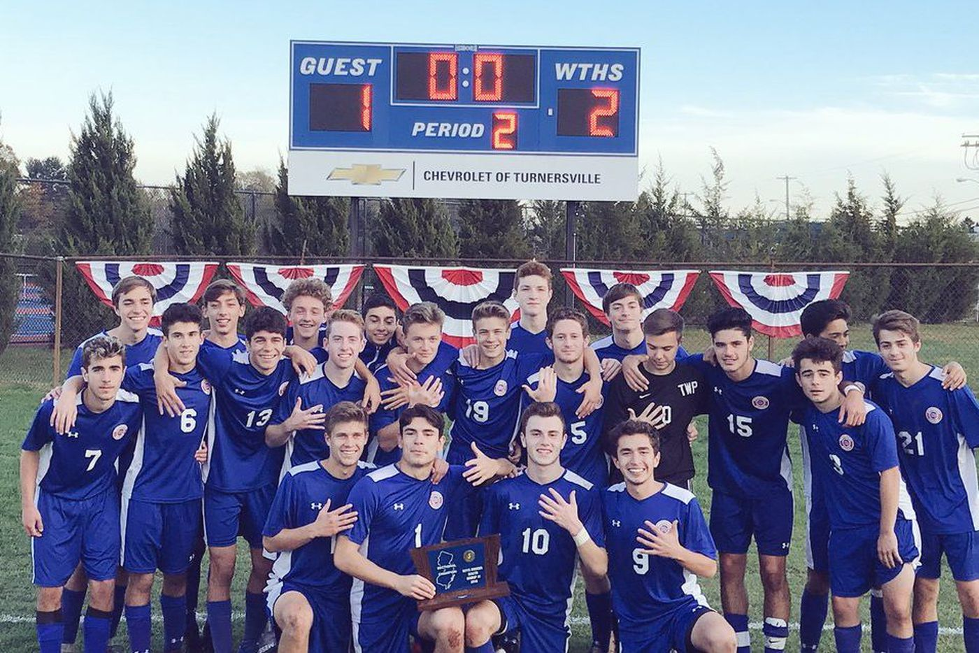 Thursday's South Jersey roundup: Washington Township boys' soccer wins fifth straight South Group 4 championship