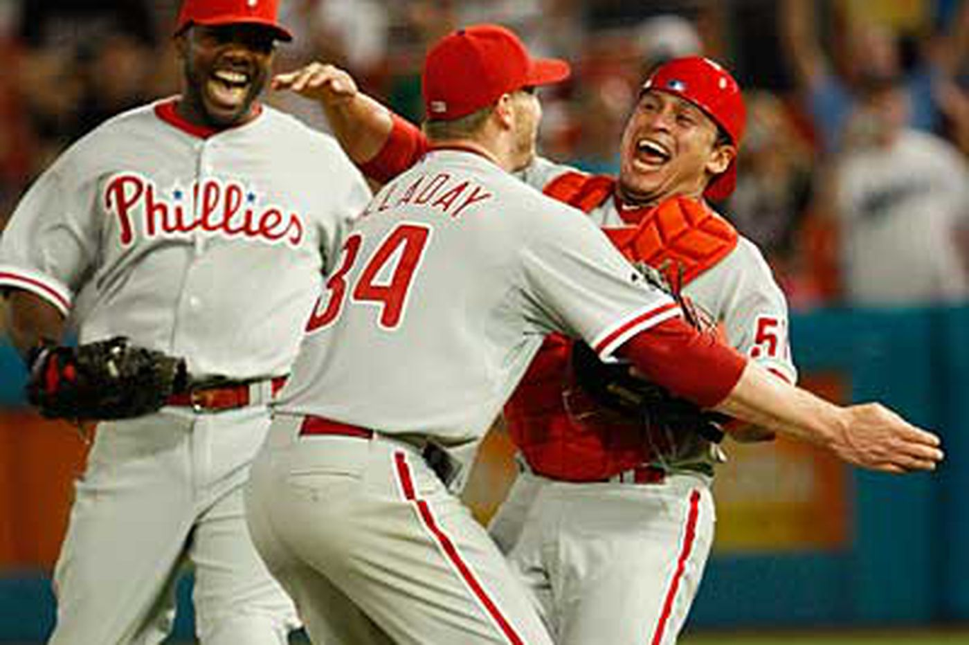 Roy Halladay throws perfect game Phillies vs. Miami Marlins