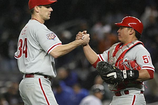 """""""Where's Cliff?"""" 2009 Phillies reunite at Citizens Bank Park, but Cliff Lee is missing"""