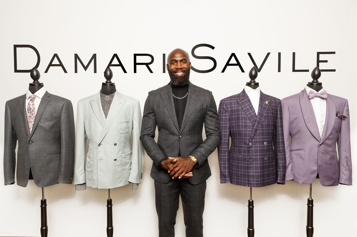 Eagles' Malcolm Jenkins, through his menswear brand Damari Savile, shows the black experience is the American experience | Elizabeth Wellington