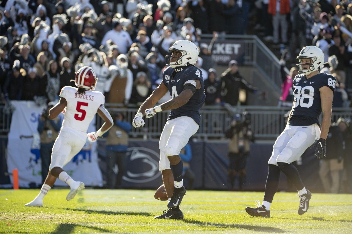 Minus KJ Hamler, Penn State ices win over Indiana with run-heavy, nine-minute touchdown drive
