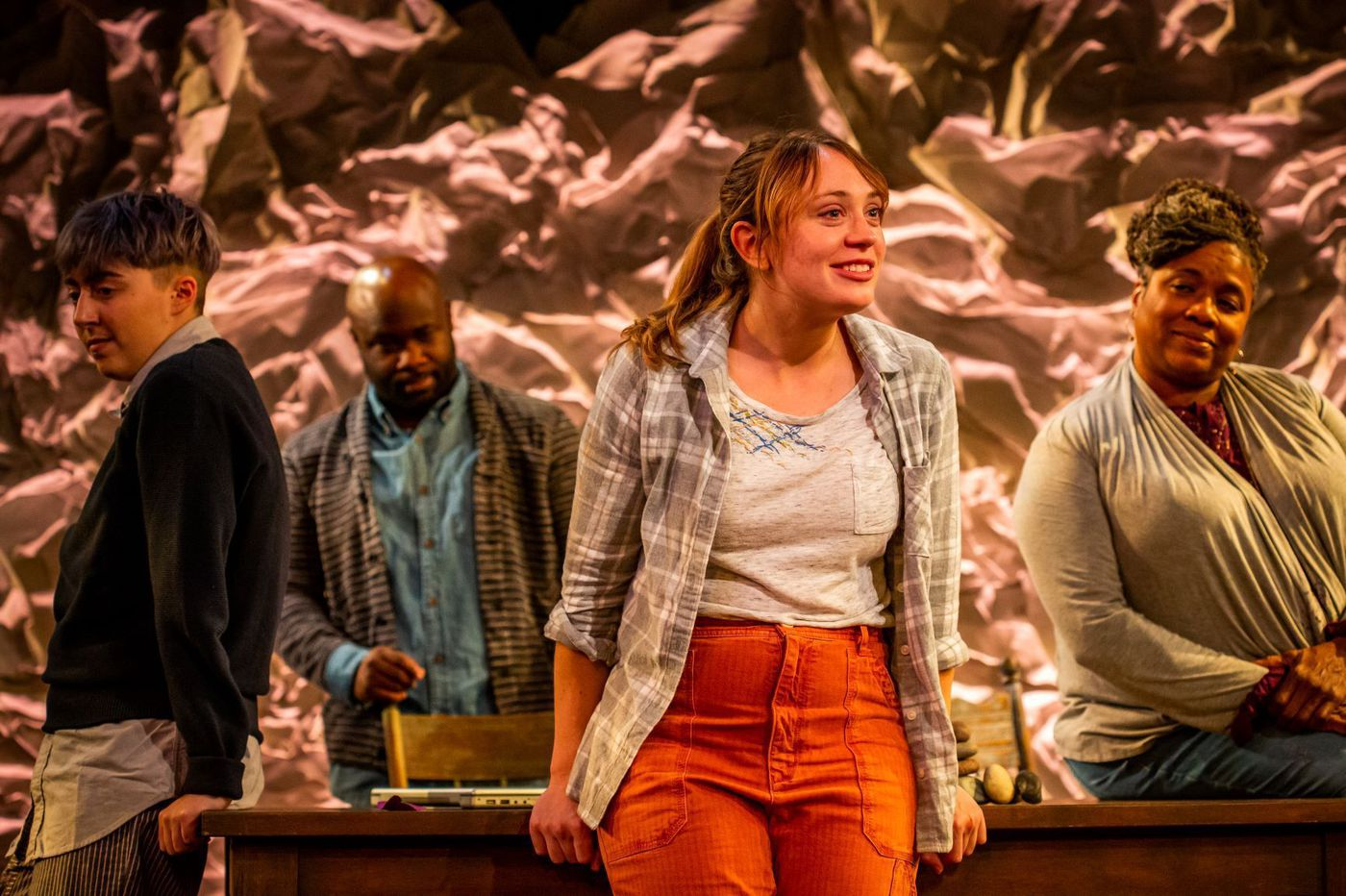 'Tiny Beautiful Things' at Arden: Cheryl Strayed's wide-open emotion, channeled by four superb Philly actors