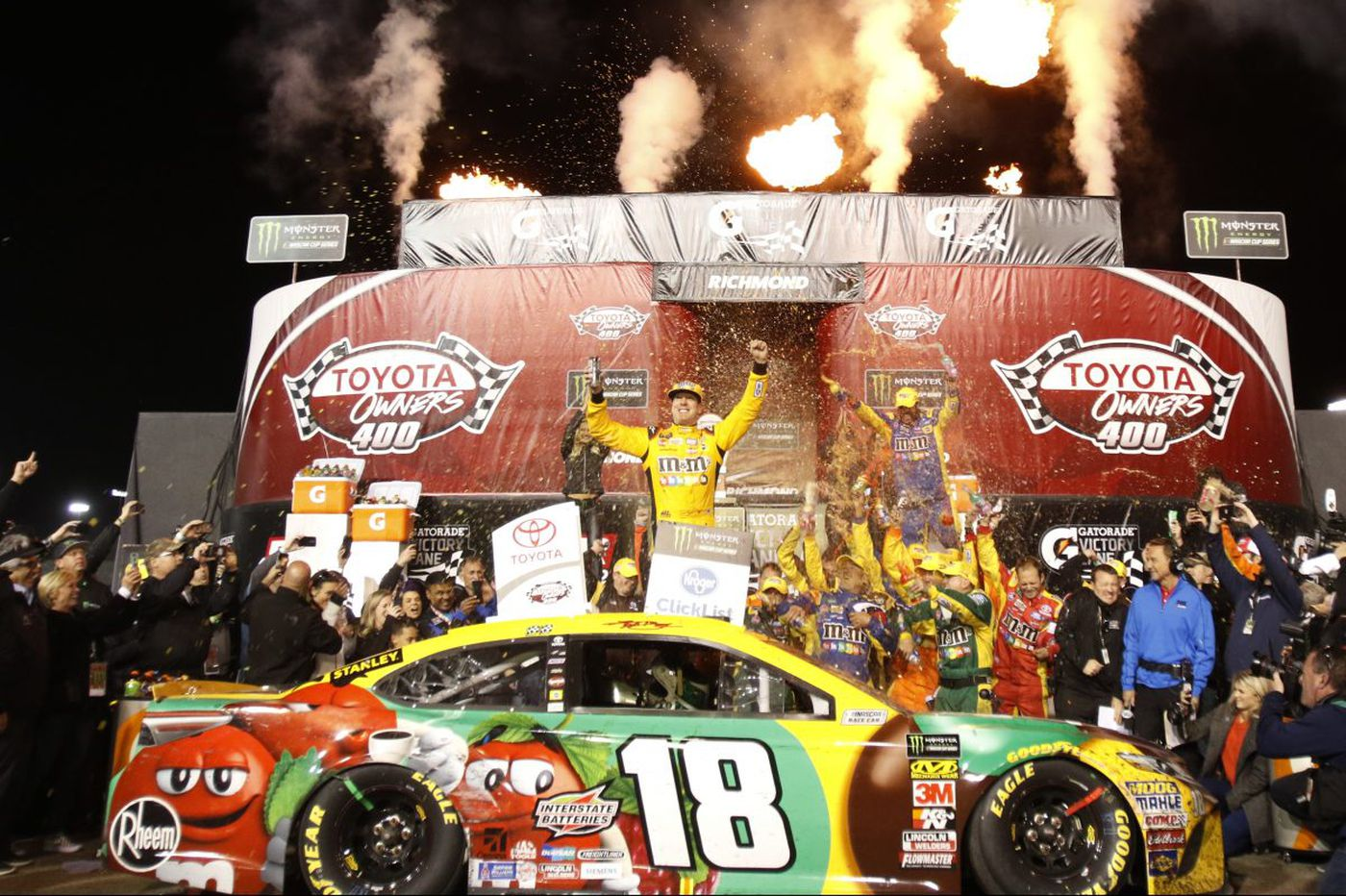 Notorious Kyle Busch ready for Cup race at Dover