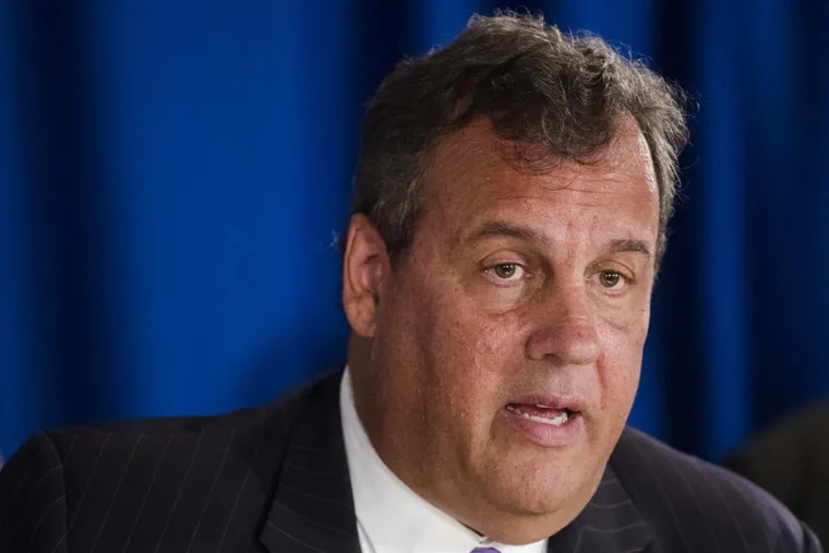 FILE / New Jersey Gov. Chris Christie during a September, 2017 news conference in Trenton, N.J.