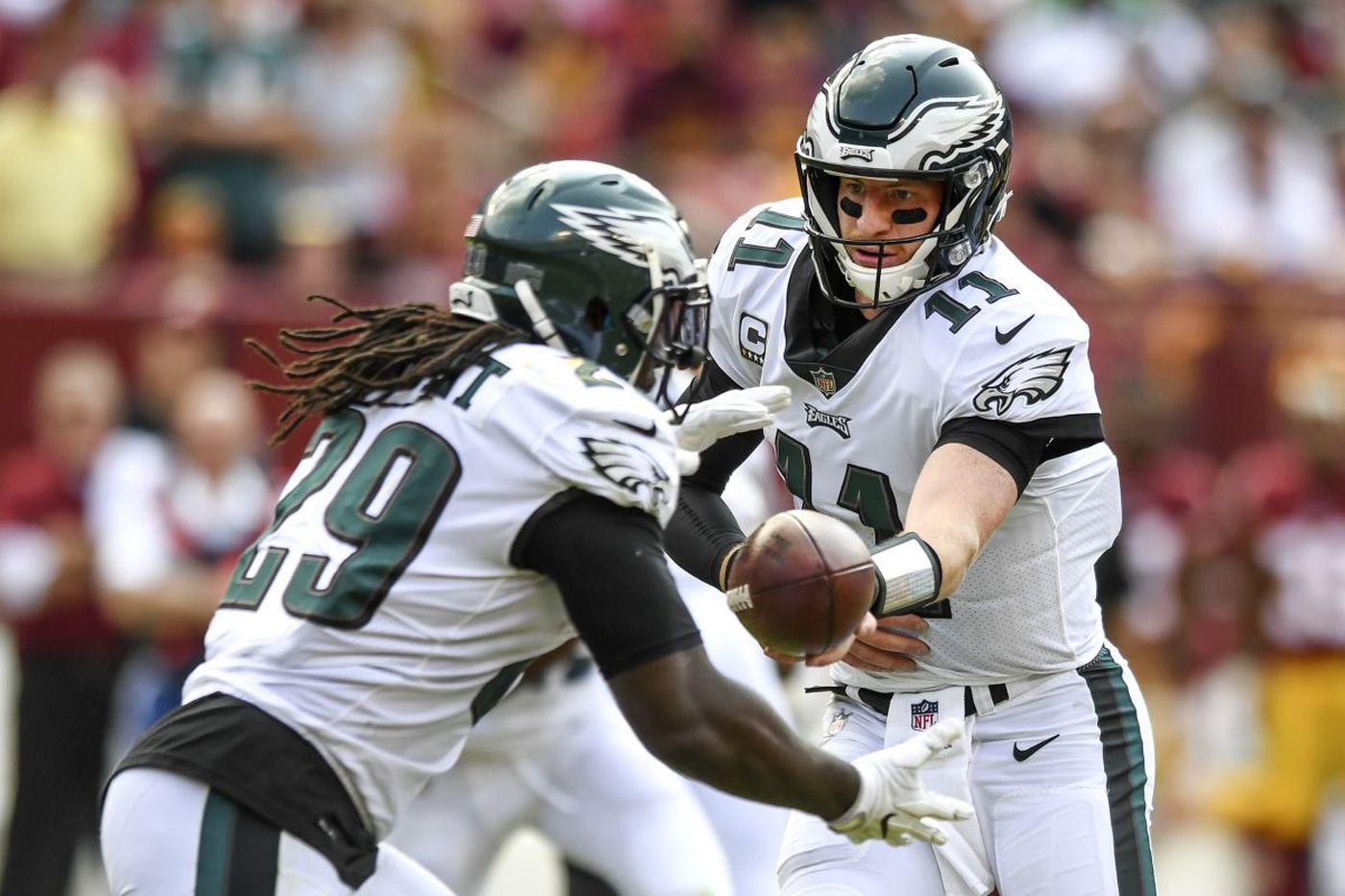 Eagles still running away from the running game