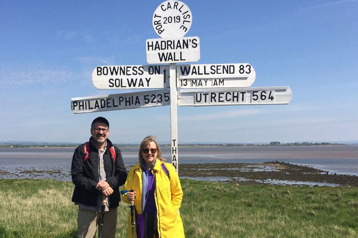 Personal Journey: Walking coast to coast in England for a birthday challenge