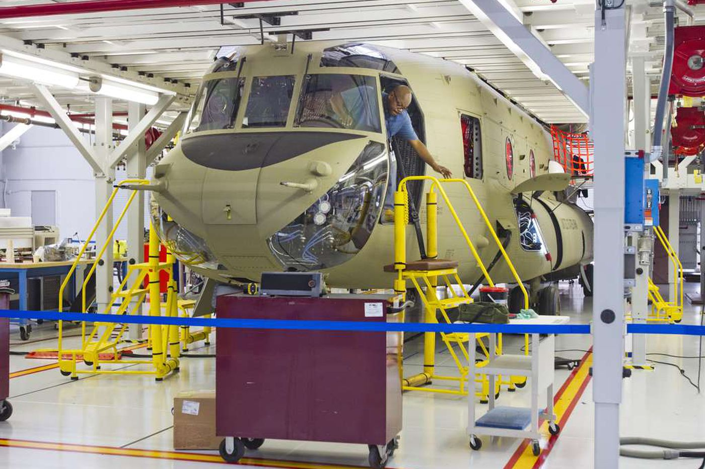 Boeing shuts Seattle jet plants but keeps Philly helicopter works going