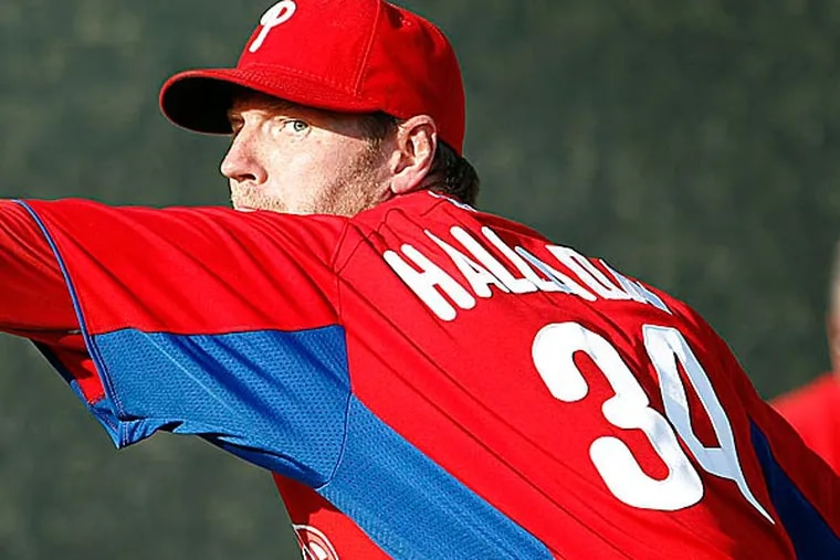 Chances are, Roy Halladay will answer with a mixture of stoicism and confidence, the way he always answers questions, the way most elite athletes answer them. (Yong Kim/Staff Photographer)