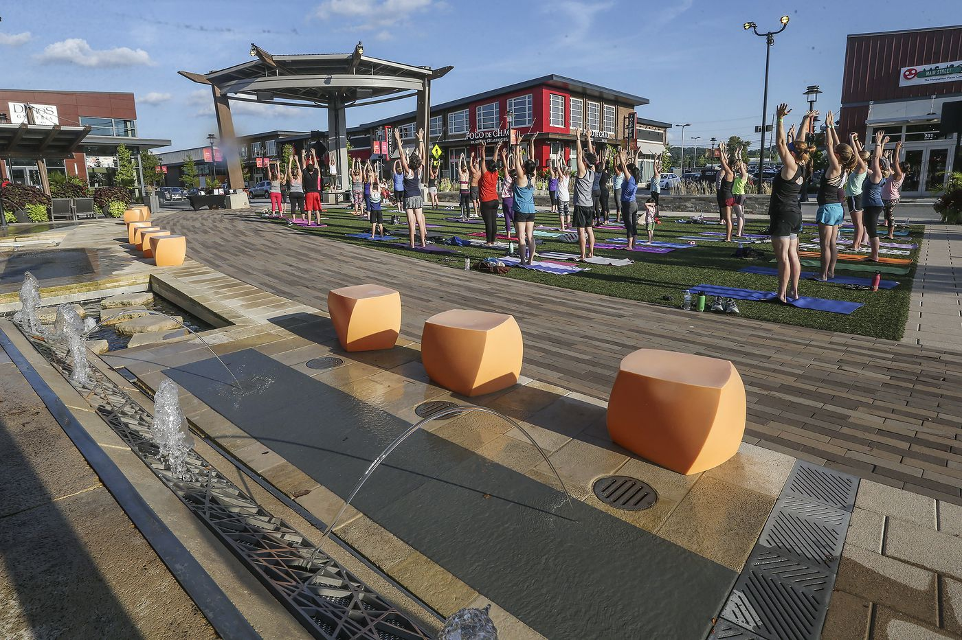Happy hour, yoga and Nordstrom Rack: City lifestyle beckons at suburban doorsteps