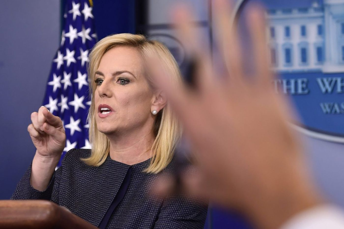 Nielsen becomes public face of Trump's migrant family separation policy