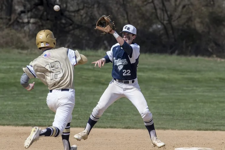 Council Rock North senior middle infielder Cavan Tully (22) will continue his baseball career at Binghamton.