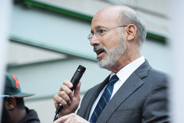 Comfortably ahead, Pa. Gov. Wolf takes low-risk approach in reelection bid
