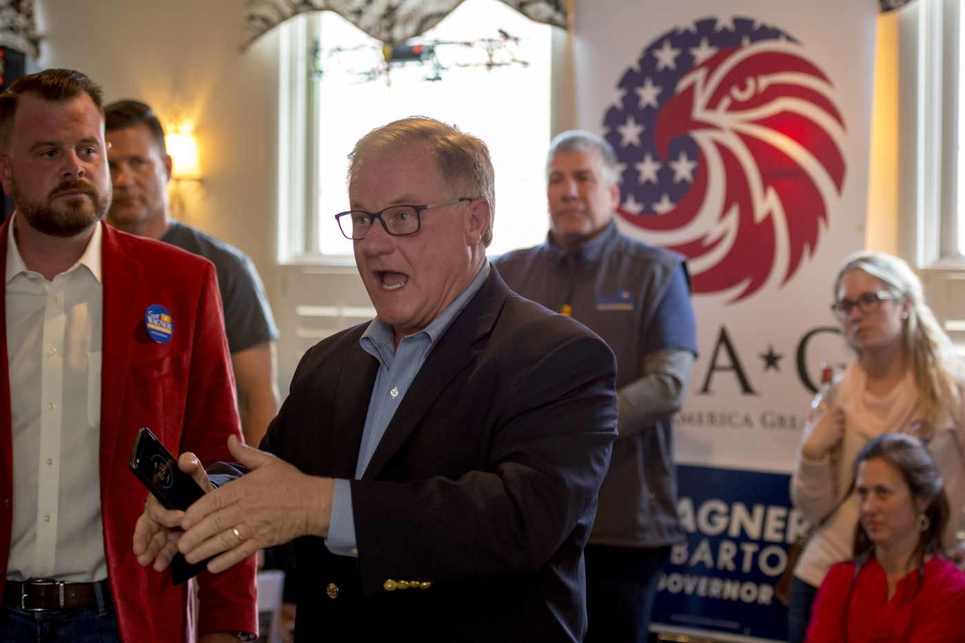 Scott Wagner cast himself as Trump-like in his run for Pa. governor. Some Philly-area GOP donors aren't feeling it.