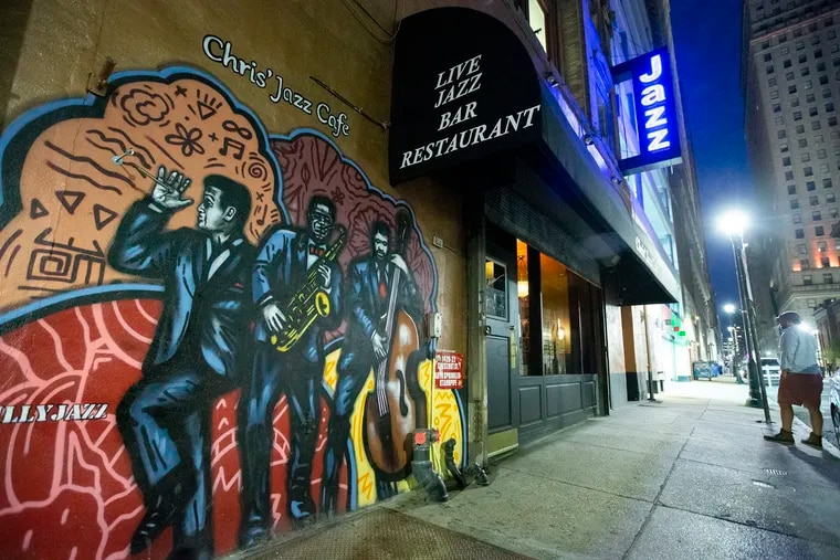 Chris' Jazz Cafe will host eight straight days of streaming shows, most of performed live to an empty venue.