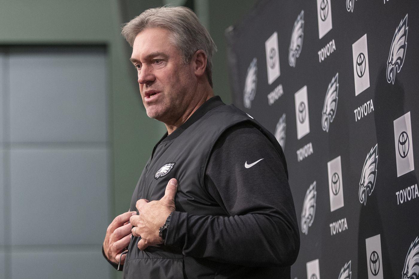 Eagles coach Doug Pederson's press conference, noon | Live video