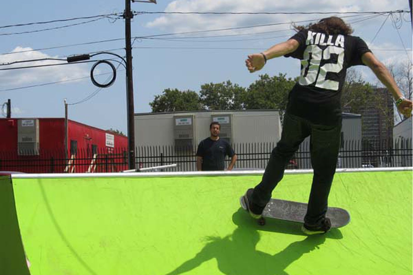 Pop-up skate park gives Camden youths an outlet