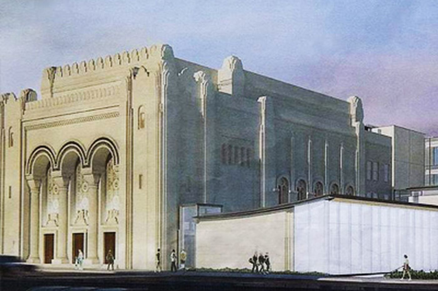Synagogue expansion brings challenges