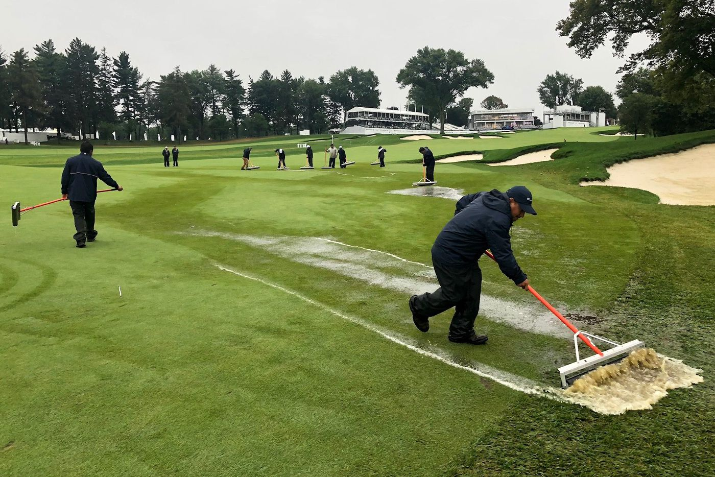 BMW Championship final round delayed till Monday