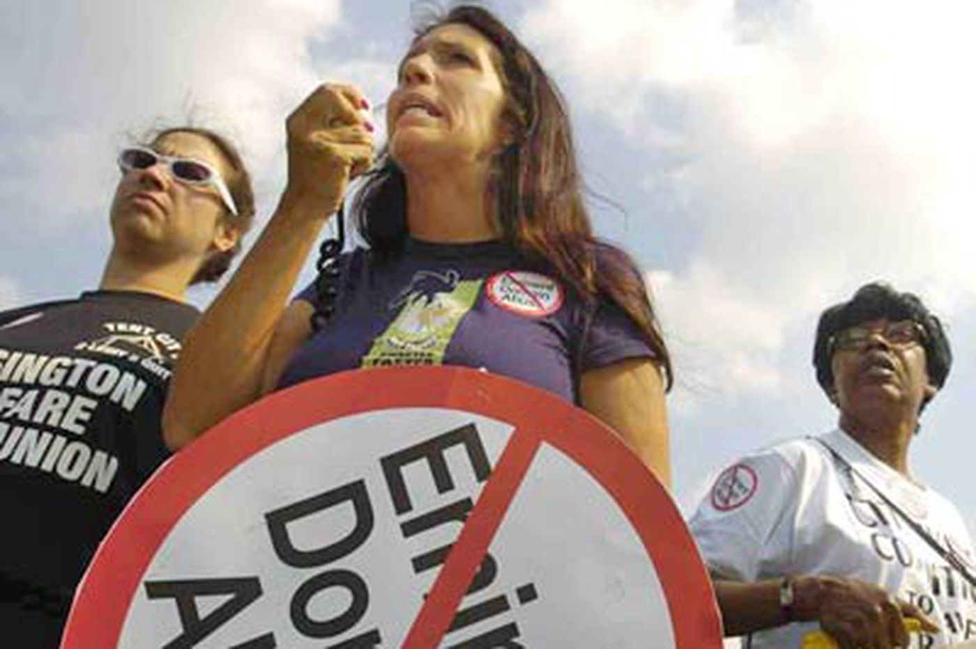 Monica Yant Kinney: Hard times bring veteran agitator Cheri Honkala back