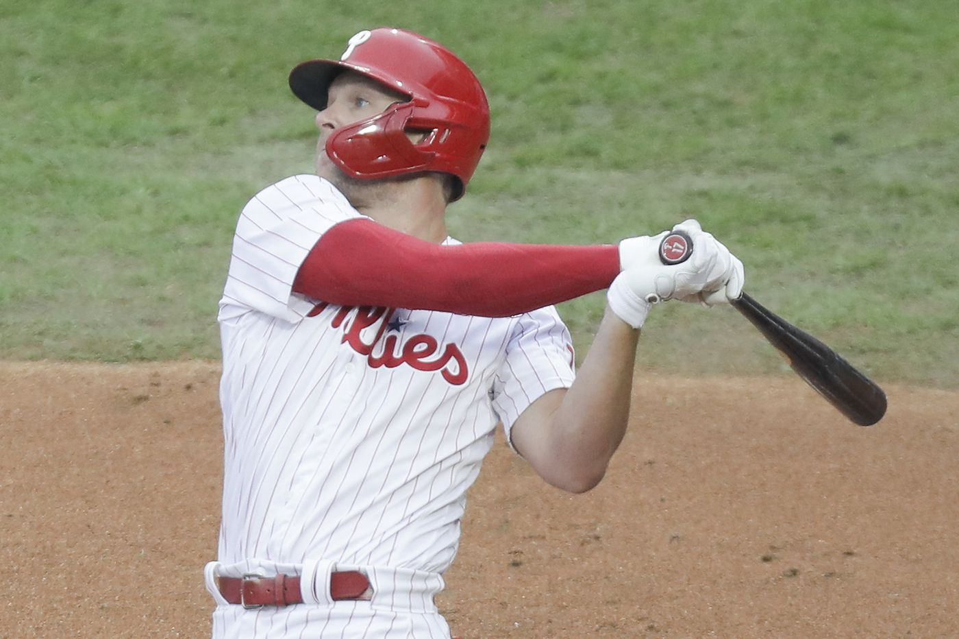 Phillies' Rhys Hoskins might need Tommy John surgery but could still be ready for spring training