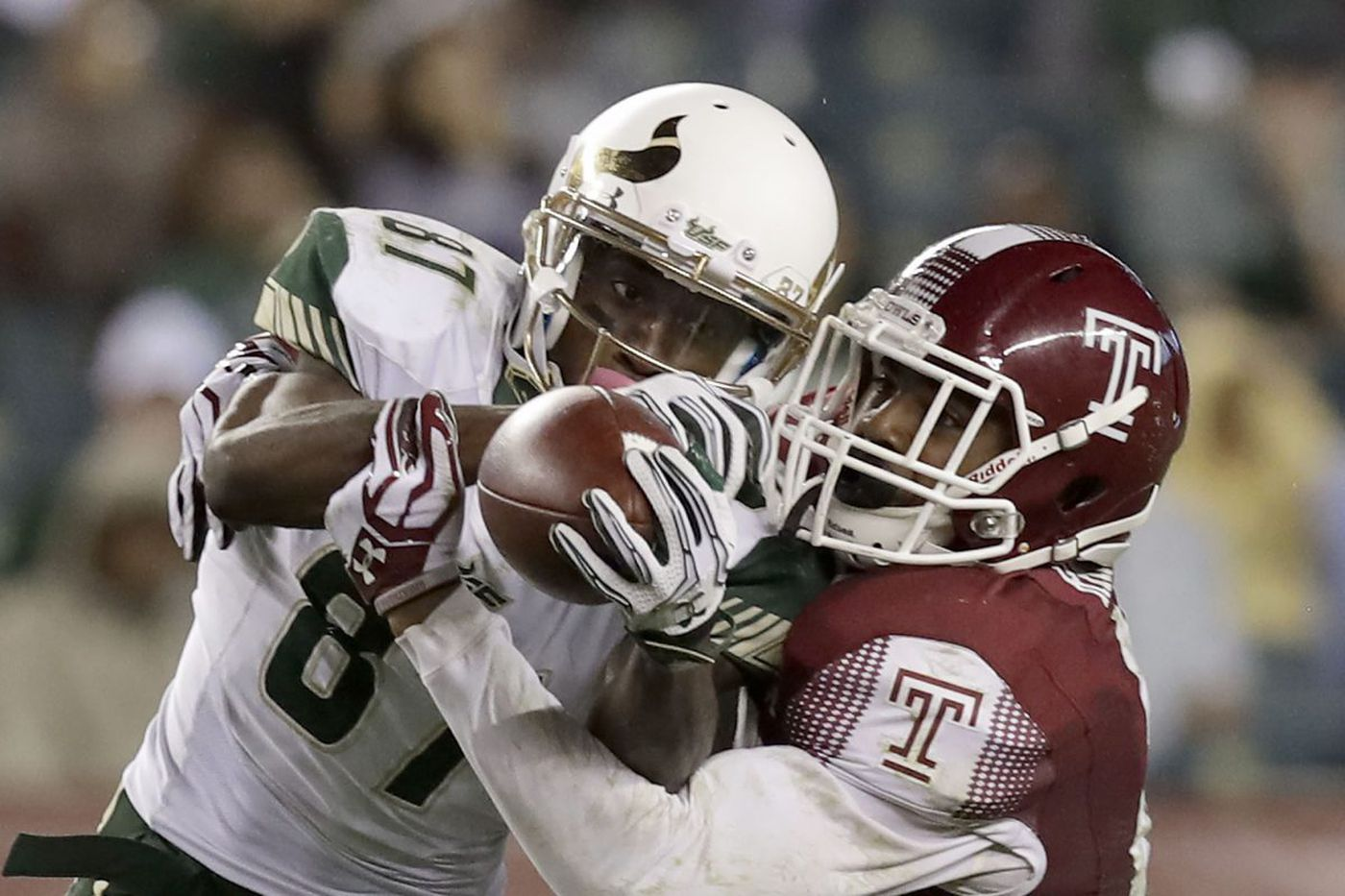 Temple football safety Delvon Randall a leader on the field, and on camera, too
