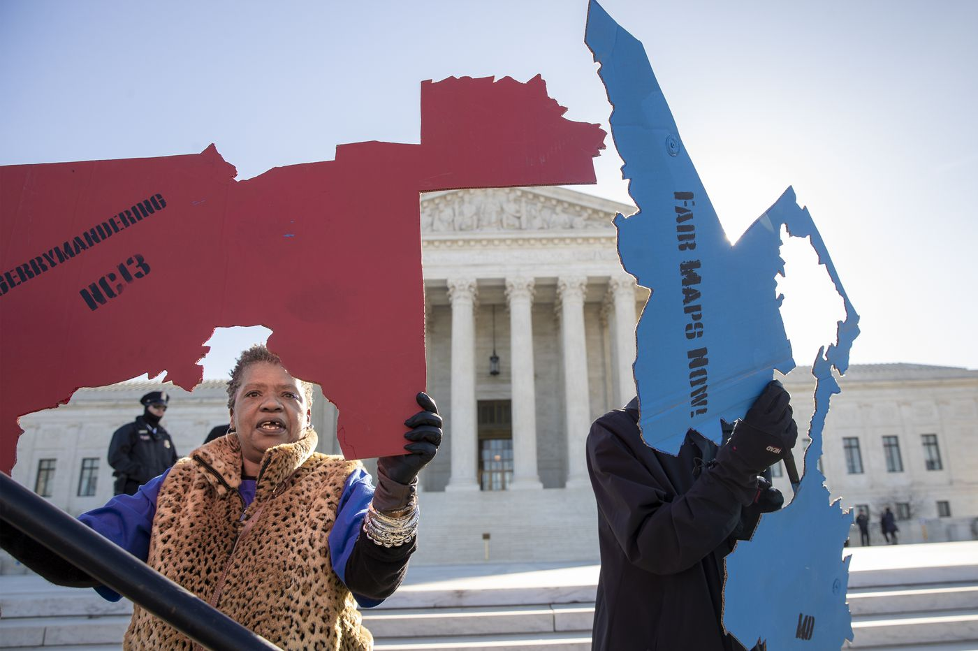High court seems wary of involving judges in redistricting