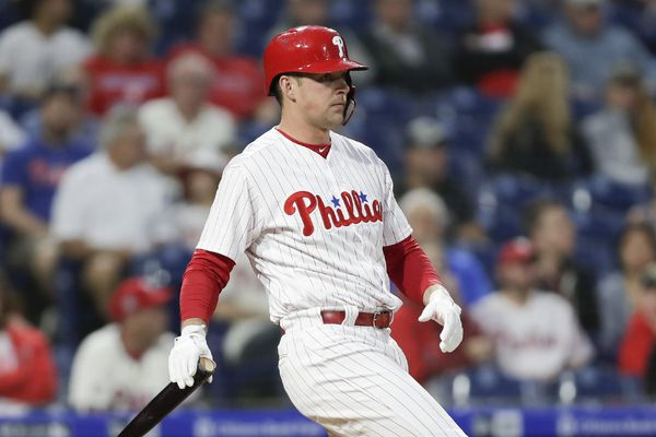 Phillies' Rhys Hoskins seems headed back to first base | Extra Innings