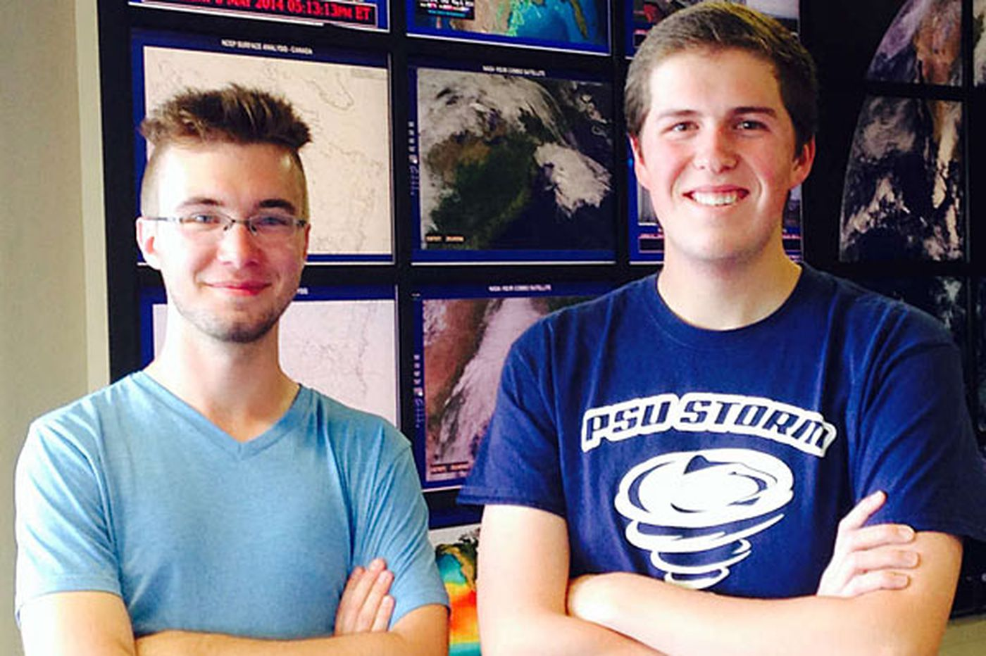 Penn State's Storm Chase Team applies classroom lessons in the field